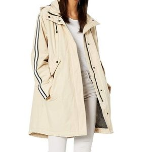 Rachel Roy Oversized Active Anorak Sand Size Small